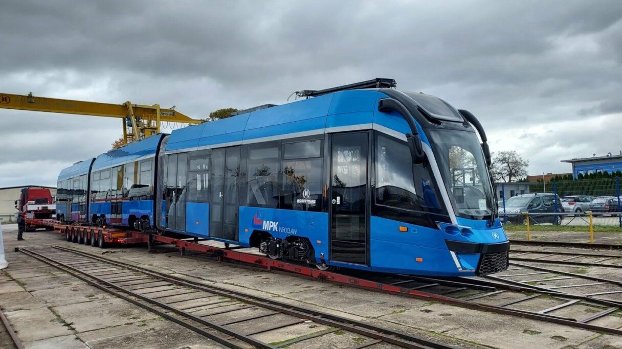 Modertrans dokončil první tramvaj Gamma pro Wrocław