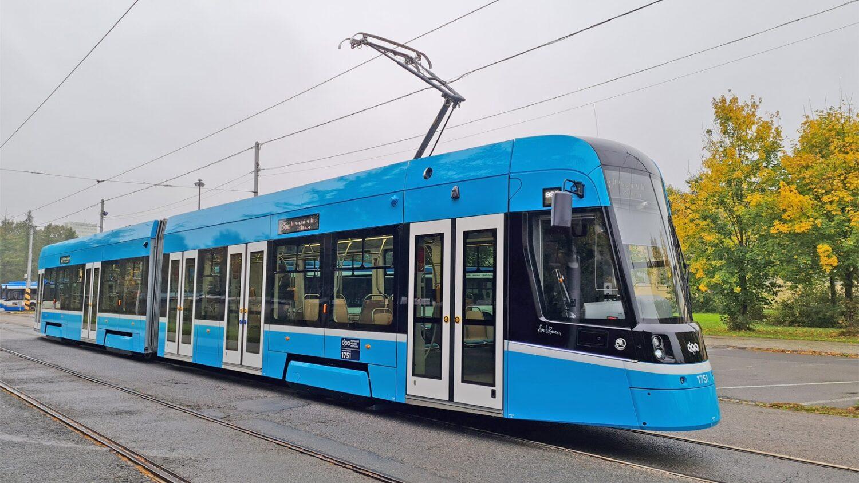 Nová tramvaj Škoda 39T pro Ostravu. (foto: DPO)